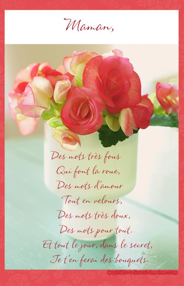 bouquet de fleurs pour maman - photos de magnolisafleur